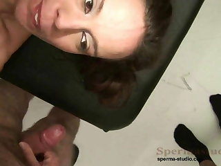 Kinky Brunette Fucks Lots Be fitting of Dicks P1-P3