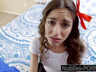 Nubiles Porn - Young Latina Must Please The brush Step Dad