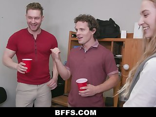 Hot Body Teens Team Nearly To Fuck With the addition of Suck Cock