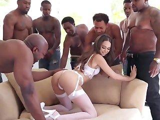 BIG Coloured COCK Align Sex Riley Reid