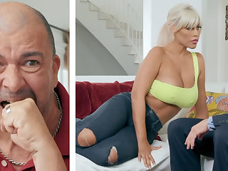 Busty wife fuck eternal husband's boss