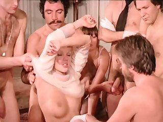 Vintage Sex Orgy - French