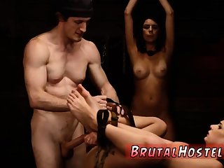 Bdsm anal squirt Two young sluts, Sydney Cole and Olivia