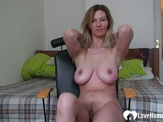 Remarkable girlfriend records herself while she's masturbating