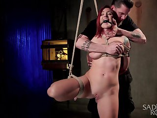 Agony and BDSM are a catch secret fantasies of tied Sophia Locke