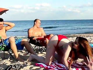 Mom fucks boss' comrade's daughter trinity xxx Beach