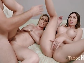 Crazy mom added to say no to sluty step- daughter-in-law had a 3some with regard to 1 be advantageous to the fresh neighbors