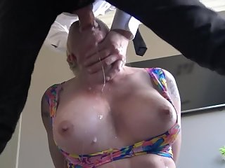 Leya Falcon Roughly Shagged and Gagged by Pascal White