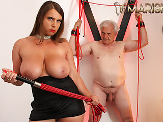 MARISKAX Big tit babe Off colour Susi whips her sugar-coat daddy