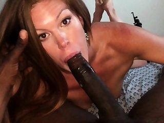 Eve Madison Spoils POV Anal Blowjob