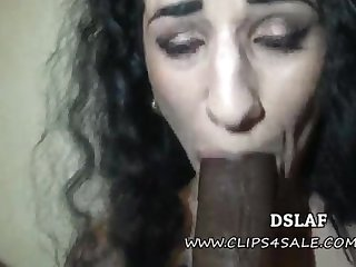 French Superhead Arabelle Raphael Multiracial Disparaging Head With Facial Cumshot- DSLAF
